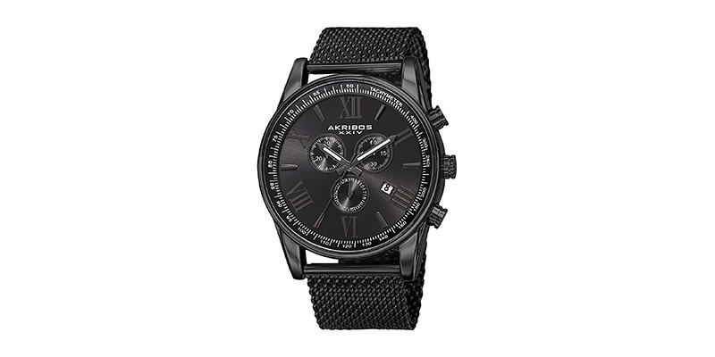 Akribos XXIV - AK813 Swiss Chronograph