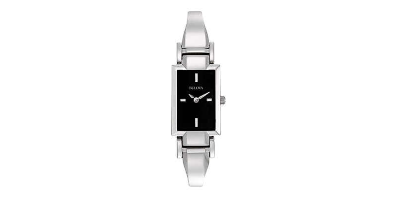 Bulova - Women's 96L138 Stainless Steel Bangle Watch