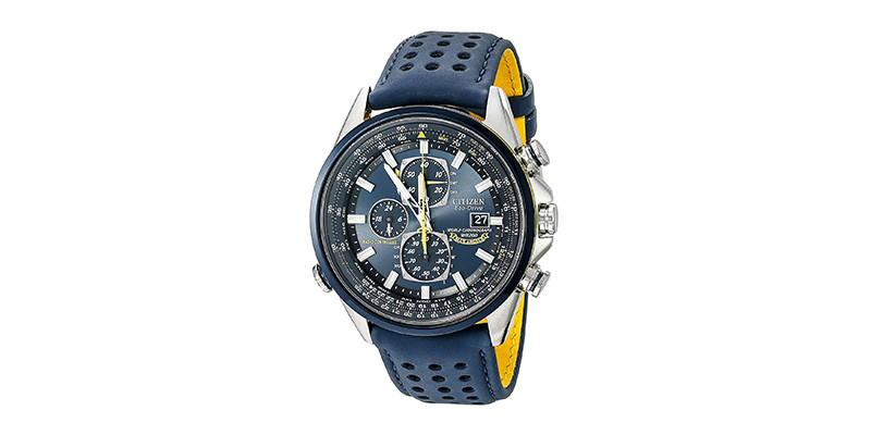 Citizen - Men's Eco-Drive Blue Angels World Chronograph Watch