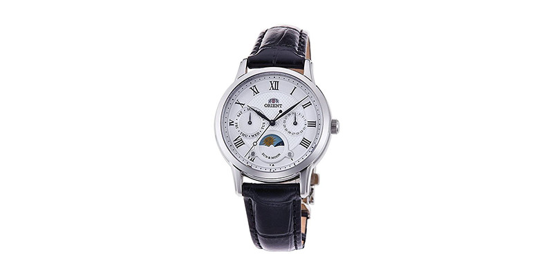 Orient - Sun & Moon Roman Indices Lady Watch