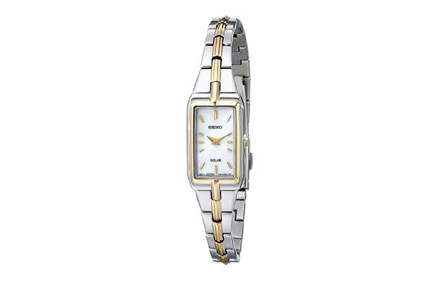 Seiko - Women's SUP272 Two-Tone Watch