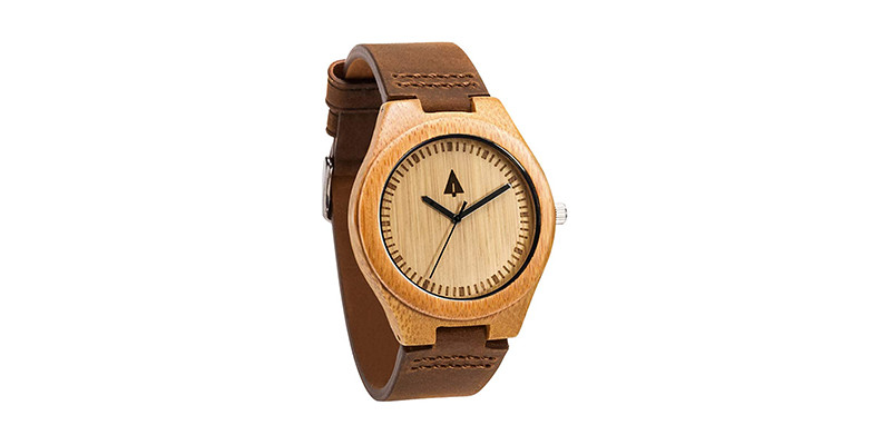 Treehut - Men's Wooden Bamboo Watch
