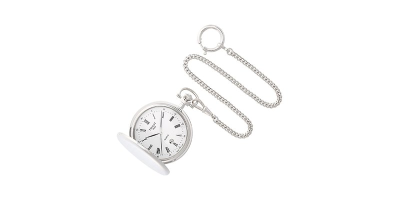 Tissot - Savonnettes Stainless Steel Pocket Watch T83655313