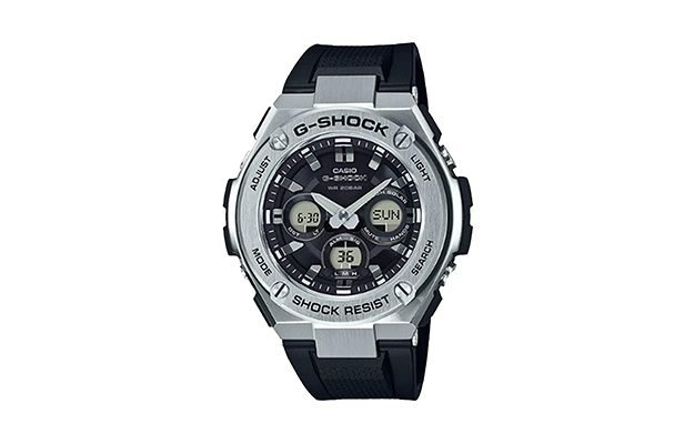 Casio - GST-S310-1A G-Shock Steel Black Dial