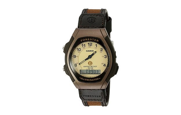 Casio - Men's FT600WB-5BV Ana-Digi Forester Illuminator Sport Watch