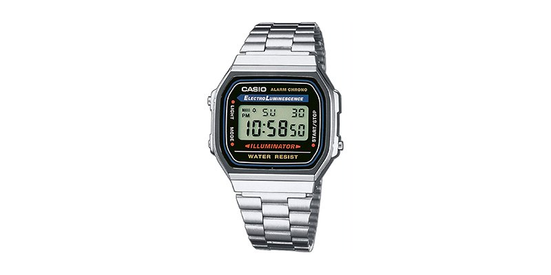Casio - Men's Vintage A168WA-1 Electro Luminescence Watch