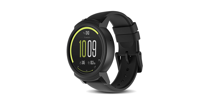 Ticwatch - E Shadow Most Comfortable Smartwatch