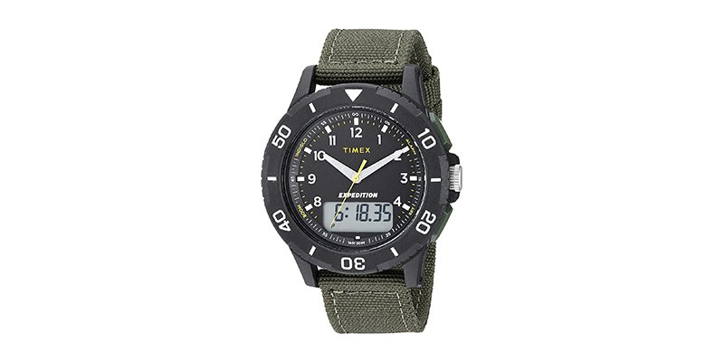Timex - Men's Expedition Katmai Combo 40mm Watch